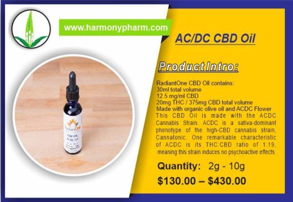 AC/DC CBD Oil