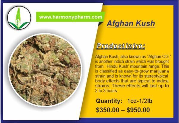 Buy Afghan Kush