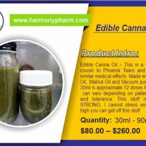 Edible Canna Oil