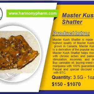 Master Kush Shatter
