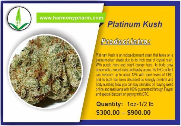 Buy Platinum Kush
