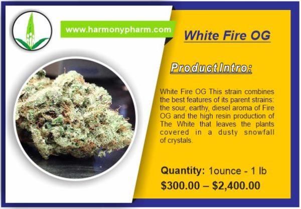 Buy White Fire OG