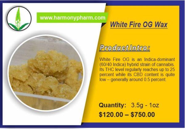 White Fire OG Wax